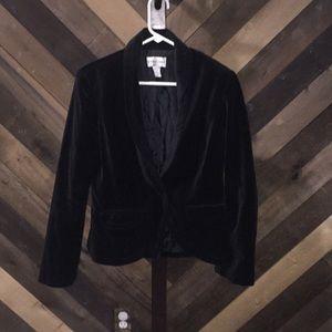 Newport news jacket vest fur black